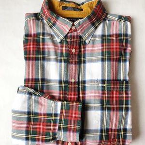 Vintage Tommy Hilfiger Plaid Button Down Shirt XL